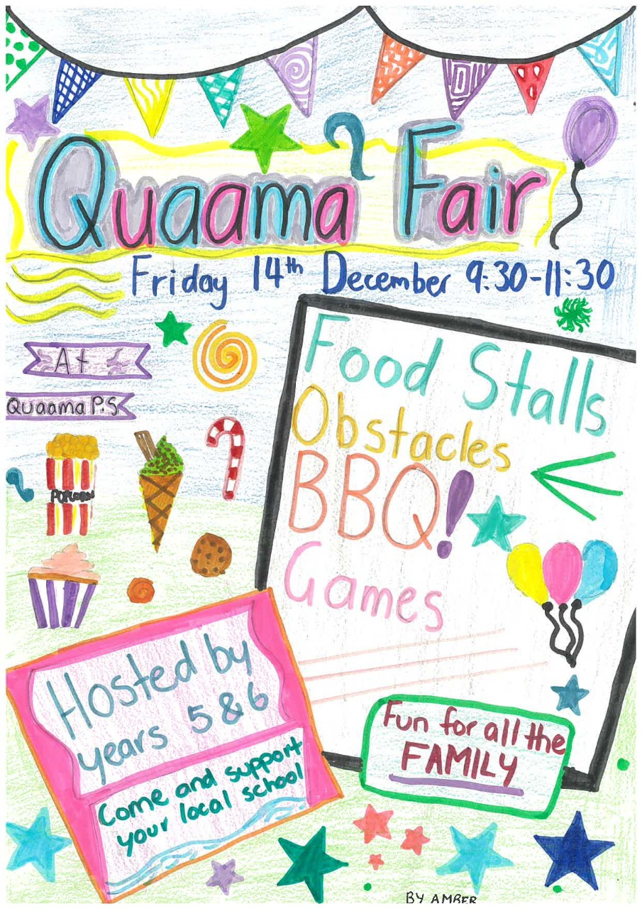 Year 6 Farewell School Fair - Quaama Public School